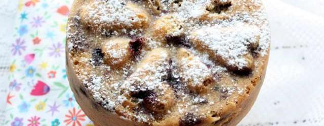 Torta soffice ai mirtilli (4)