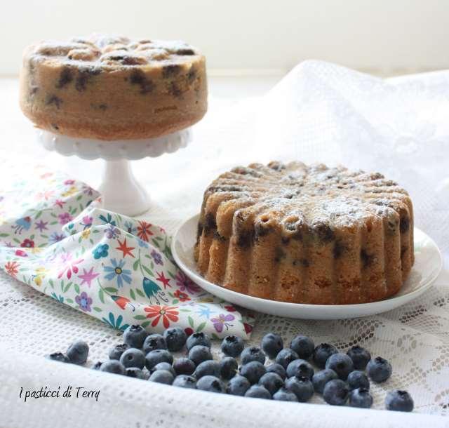 Torta soffice ai mirtilli (6)