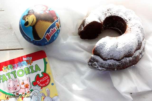 Ciambellone jogurt e cacao (2)
