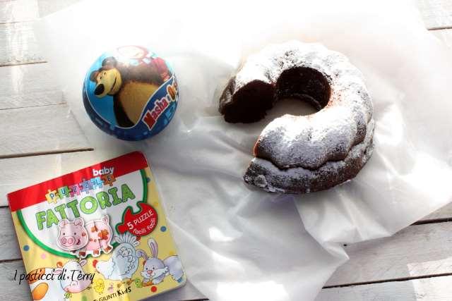 Ciambellone jogurt e cacao (3)