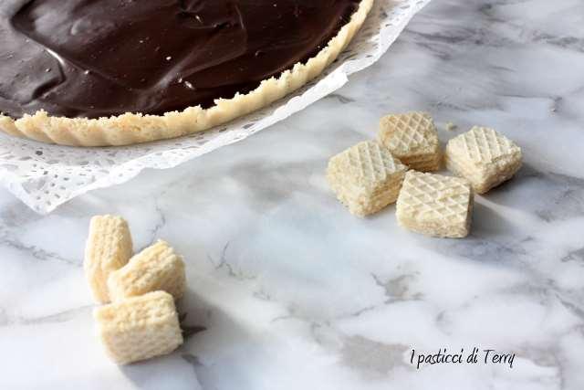 Crostata senza cottura al cioccolato (12)