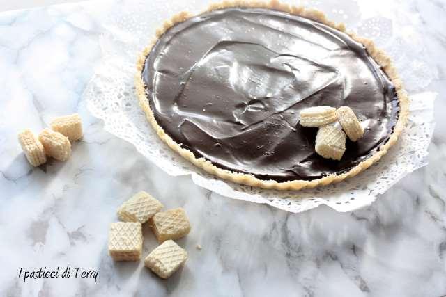 Crostata senza cottura al cioccolato (14)