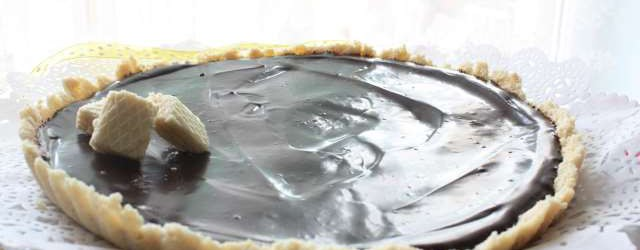 Crostata senza cottura al cioccolato (6)