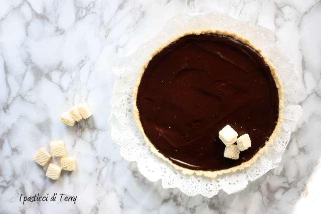 Crostata senza cottura al cioccolato (8)