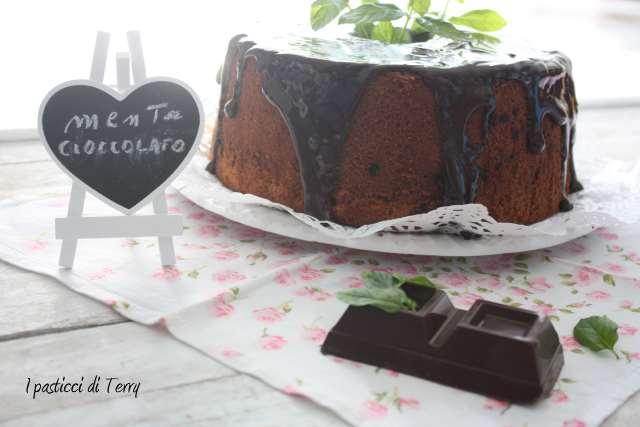 Fluffosa o chiffon cake menta e cioccolato (13)