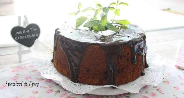 Fluffosa o chiffon cake menta e cioccolato (15)