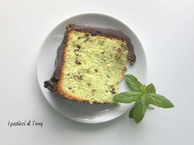 Fluffosa o chiffon cake menta e cioccolato (19)