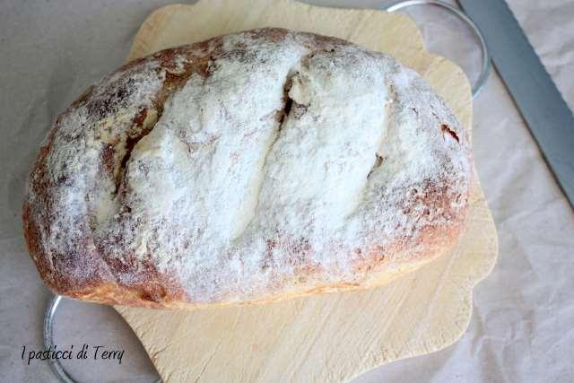 Pane rustico al farro e ceci (5)