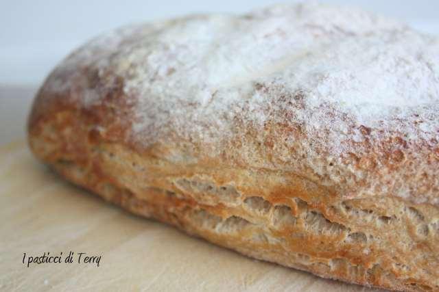Pane rustico al farro e ceci (7)