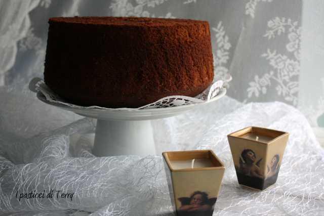 Fluffosa o Chiffon cake al cacao (12)
