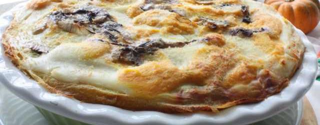 Lasagna di creps zucca zola e radicchio (10)