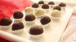 Tartufi al rum ricoperti al cioccolato (3)