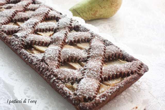 Crostata cioccolato e pere (11)