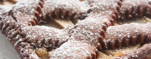 Crostata cioccolato e pere (14)
