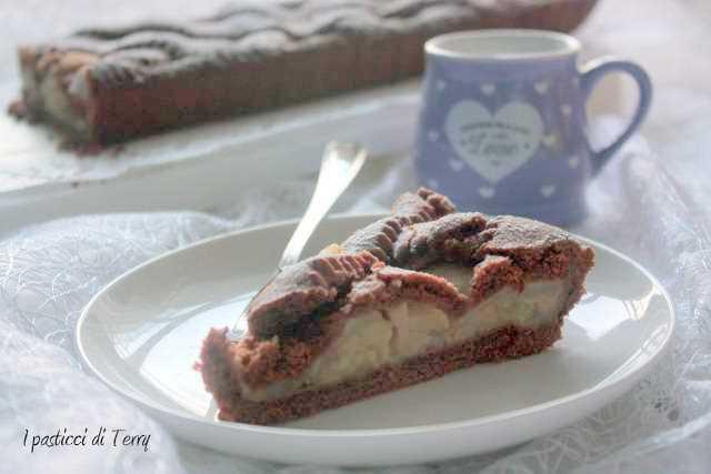 Crostata cioccolato e pere (18)