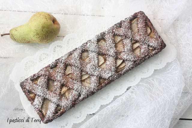 Crostata cioccolato e pere (8)