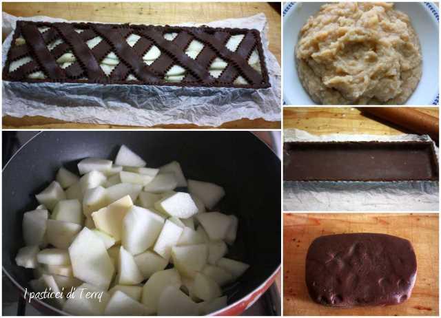 Crostata cioccolato e pere1