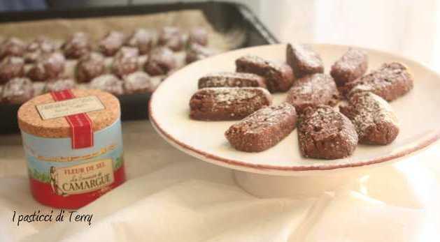 Sablè cioccolato e fior di sale di Knamn (3)