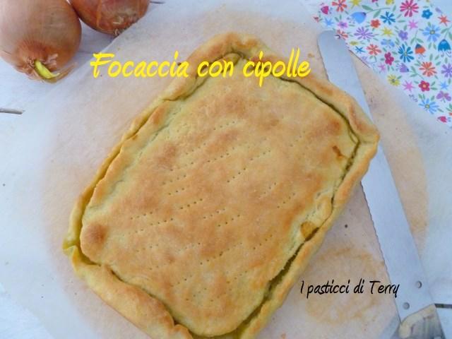 Focaccia con cipolle (5)