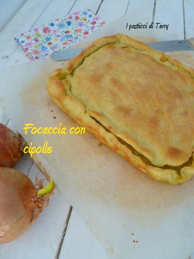 Focaccia con cipolle (6)