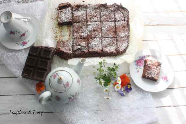Brownies al cioccolato e caffè (1)