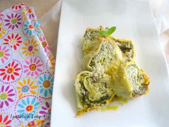 Girelle di pasta spinaci e ricotta (16)