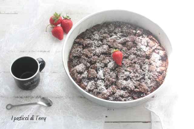 Sbriciolata gluten free con confettura di fragole (3)