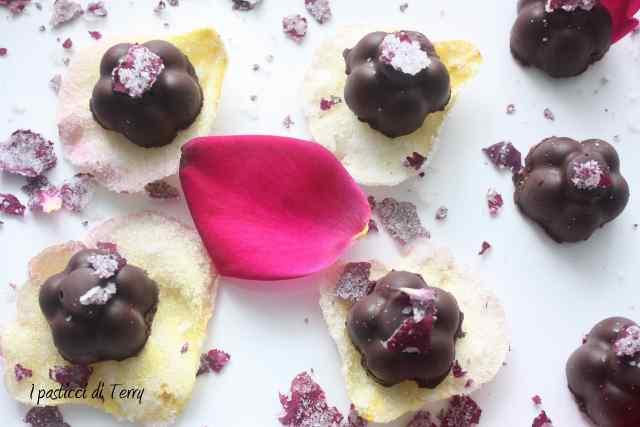 Rose scentel truffle Tartufi di cioccolato (10)