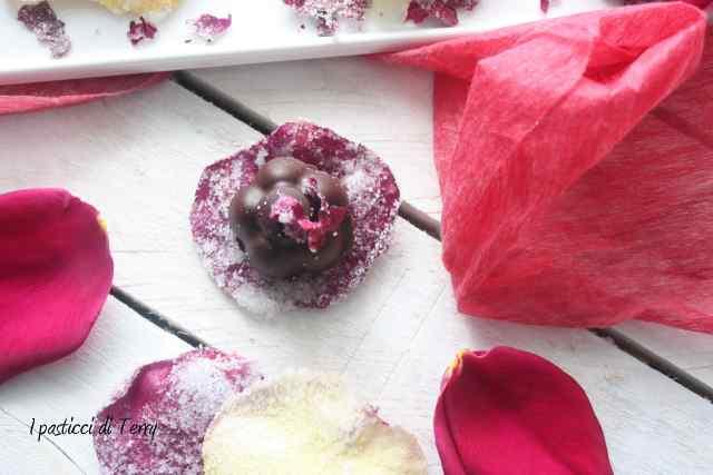 Rose scentel truffle Tartufi di cioccolato (11)