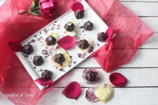 Rose scentel truffle Tartufi di cioccolato (2)