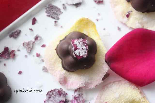 Rose scentel truffle Tartufi di cioccolato (9)