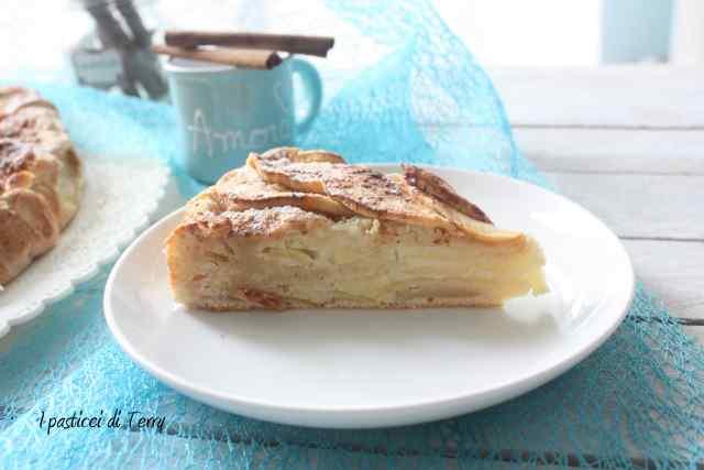 Torta di mele e ricotta (7)