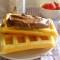 Dolci – Waffle alla crema di nocciole e frutta