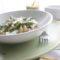 Orecchiette di grano arso con pesto di asparagi e stracciatella